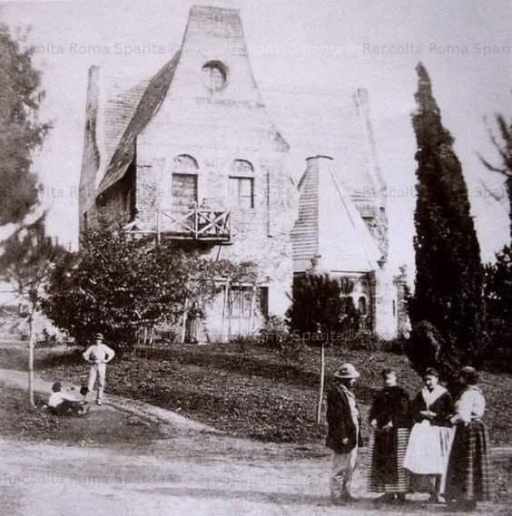 """La Casina delle Civette nel 1896 (foto dal gruppo Facebook """"Quelli di piazza Bologna"""")"""