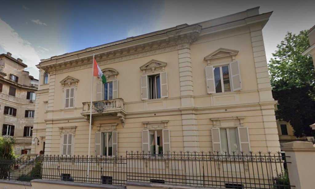 L'Ambasciata della Costa d'Avorio in via Saliceto (foto google maps)