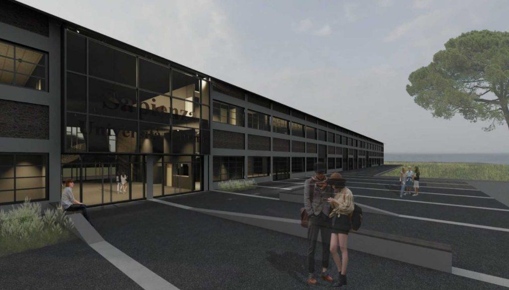 Un rendering del progetto