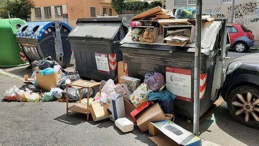 """via Gatteschi (foto di Giulia Parenti Mandara dal gruppo """"Quelli di Piazza Bologna"""")"""