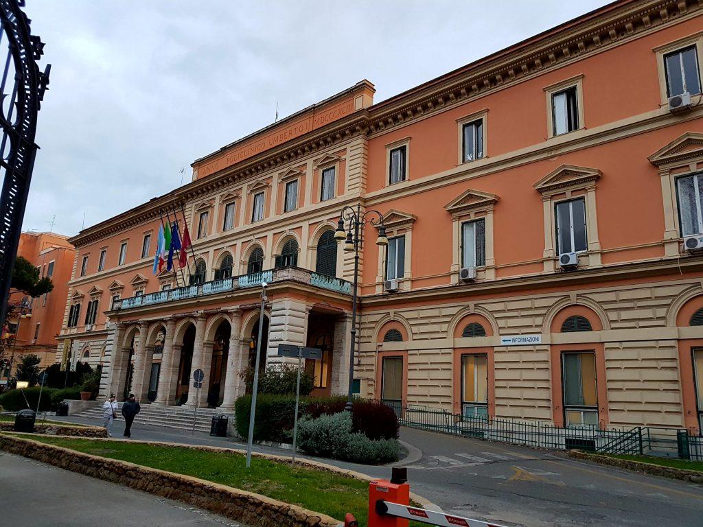 Il policlinico Umberto I (foto da Wikipedia)