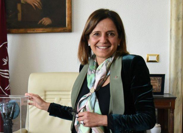 La rettrice della Sapienza Antonella Polimeni