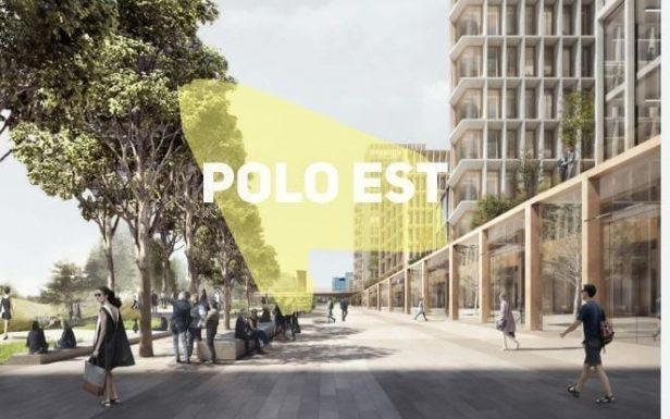"""Un rendering del progetto del """"Polo Est"""""""