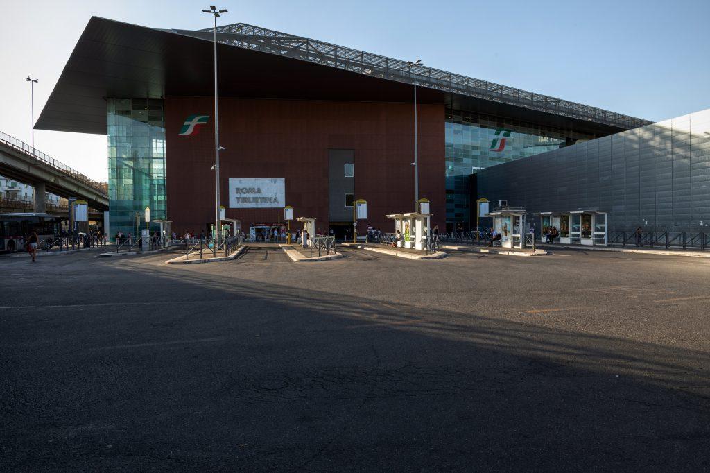 La stazione Tiburtina