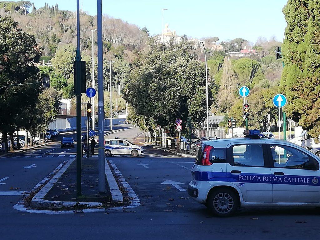 L'ingresso della Panoramica da piazzale Clodio. Foto di repertorio