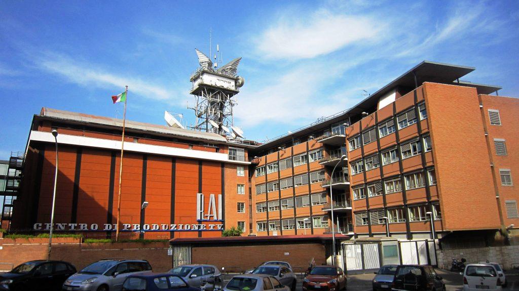 La sede Rai di via Teulada