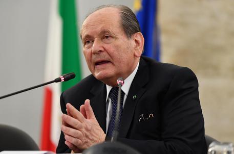 Il presidente della Corte Costituzionale, Giorgio Lattanzi