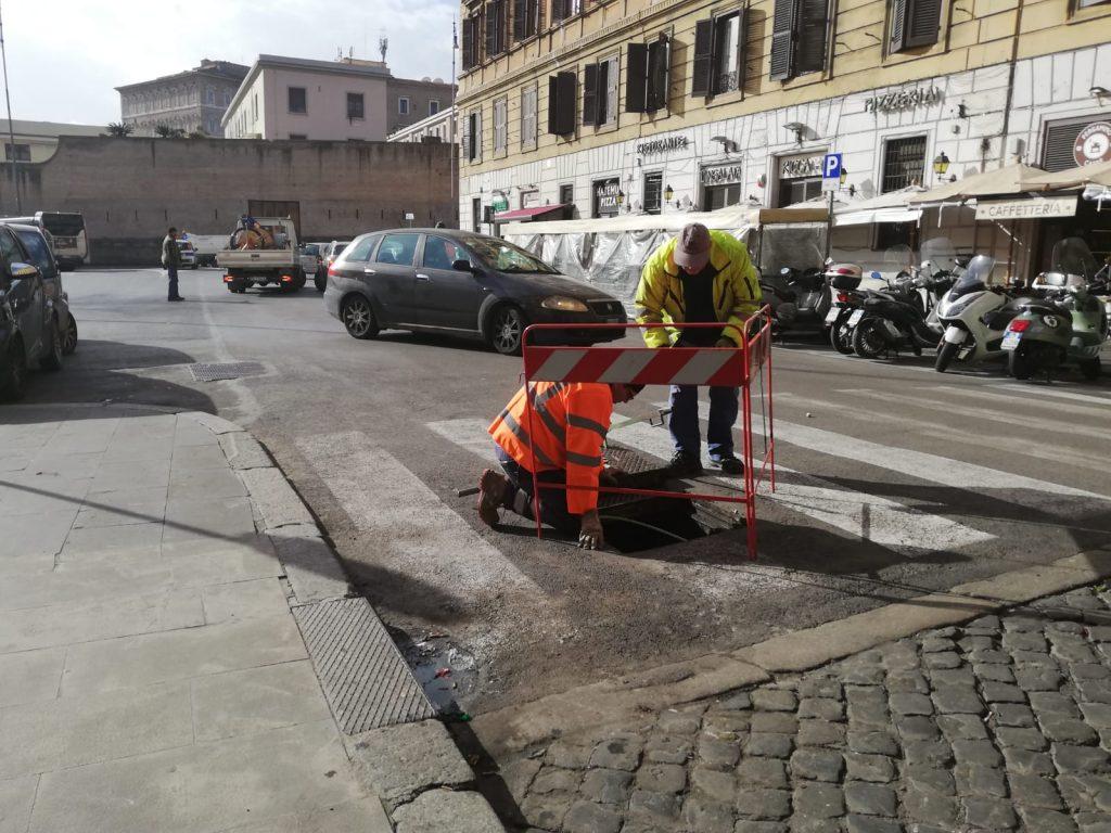 I lavori alla fibra ottica