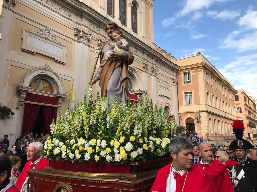 La processione di San Giuseppe del 2019