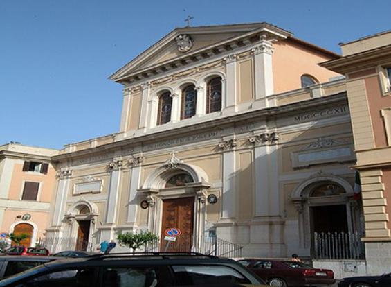 La basilica di San Giuseppe al Trionfale