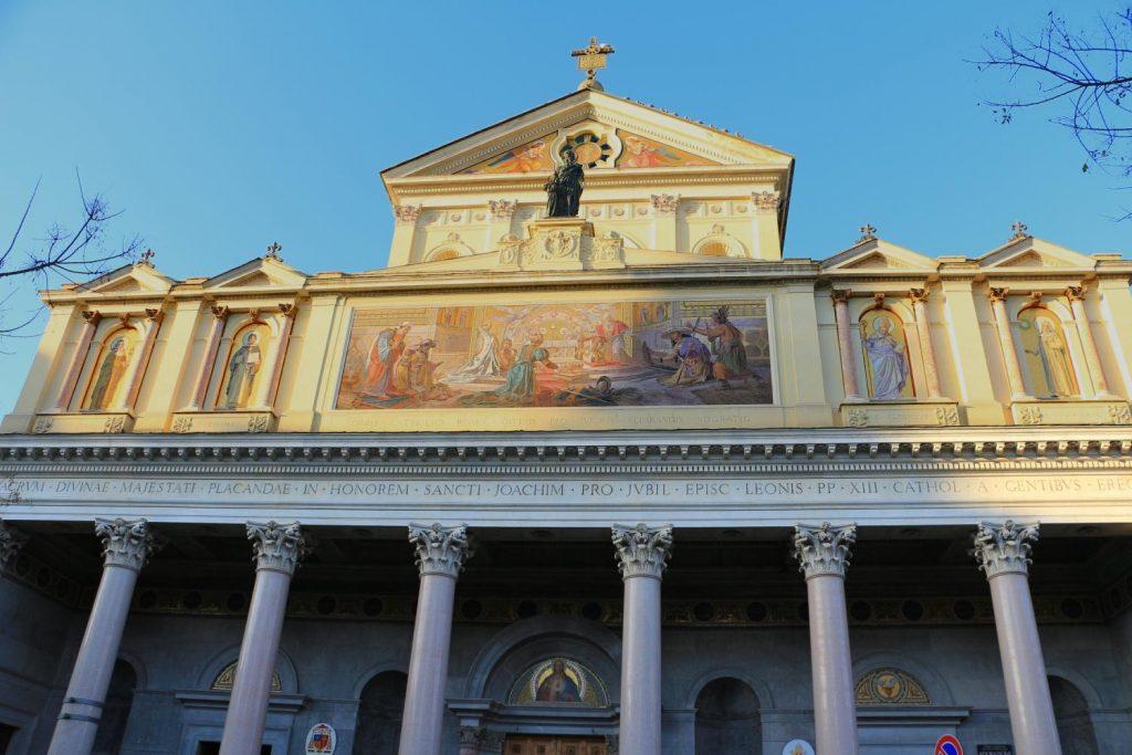 La parrocchia di San Gioacchino in Prati