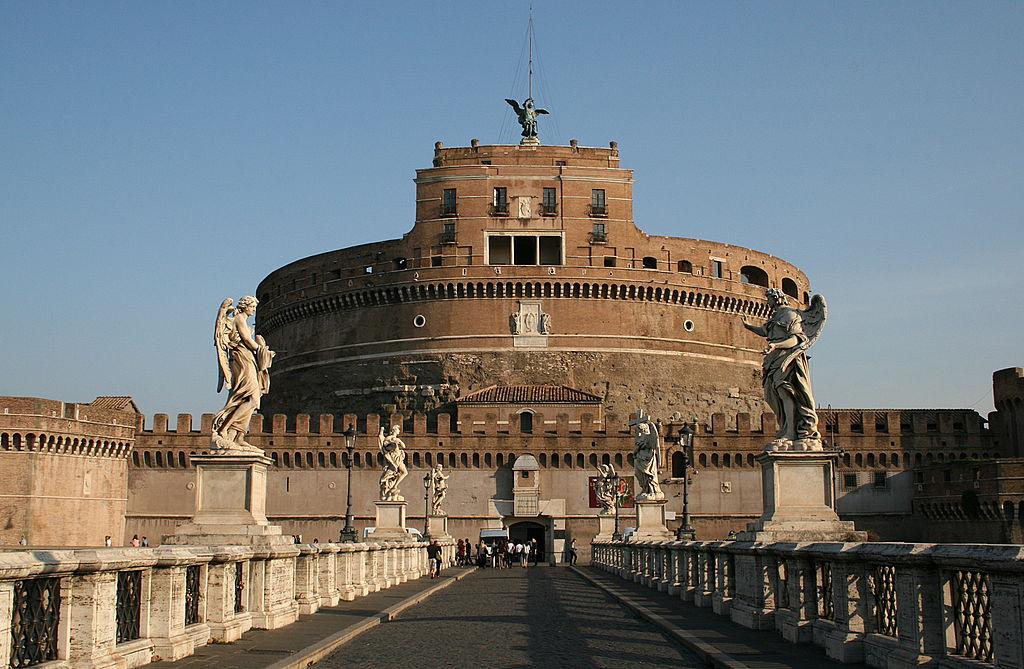 Castel Sant'Angelo, la meraviglia di Prati stilizzata nello stemma