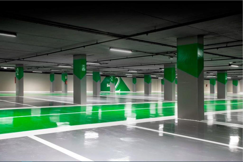 Il parcheggio sotterraneo