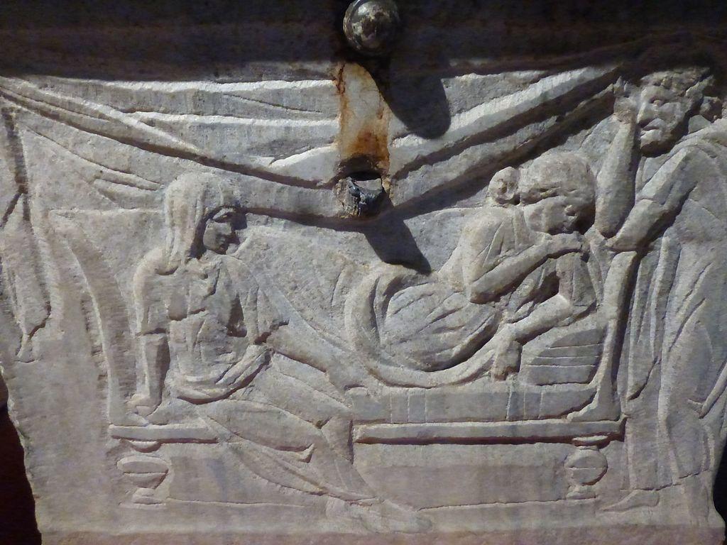 Il sarcofago di Crepereia