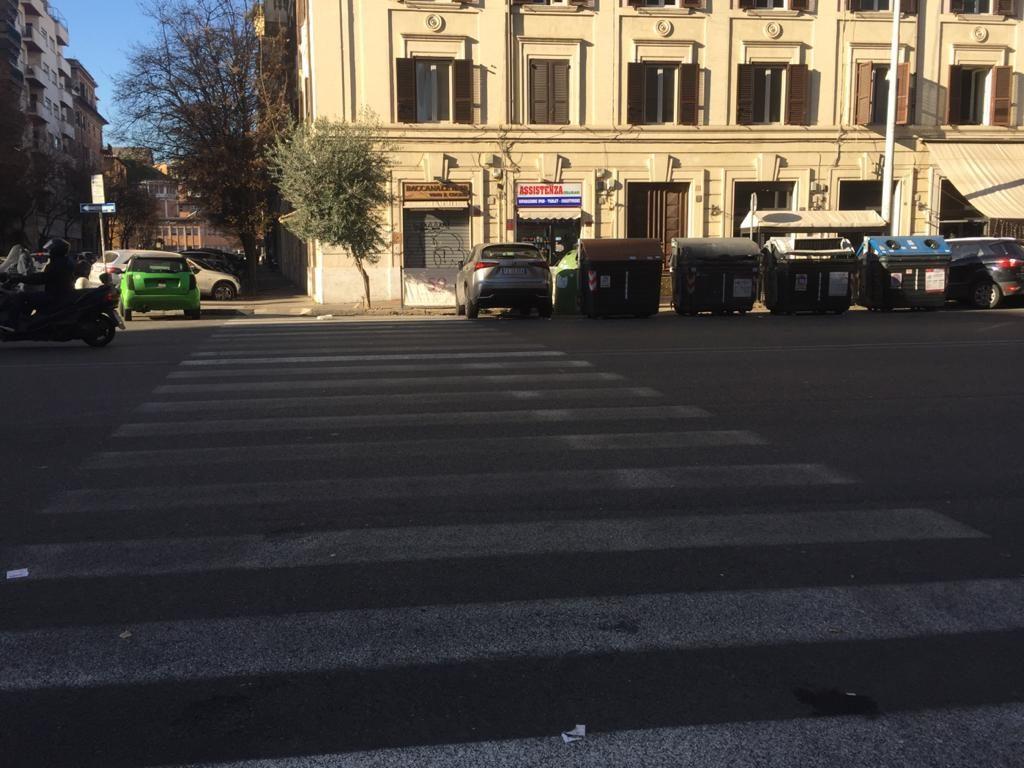 Via Della Giuliana civico 59 incrocio con Via Rodi