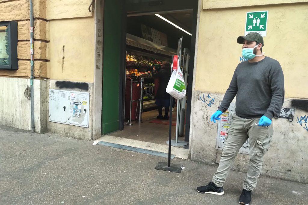 Supermercato in via Ferrari
