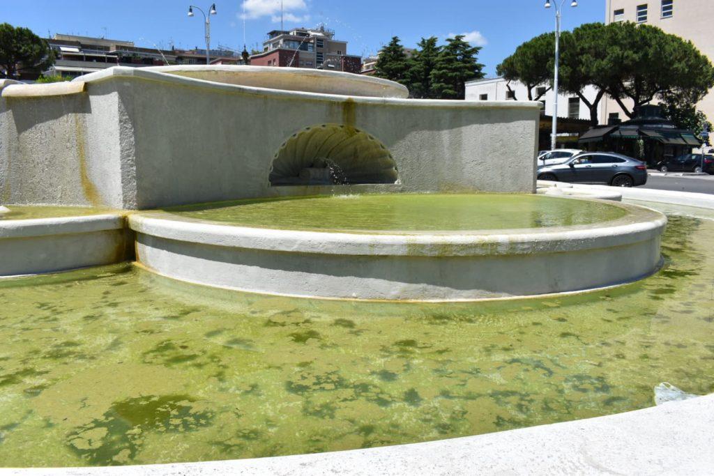 La fontana di piazzale degli Eroi