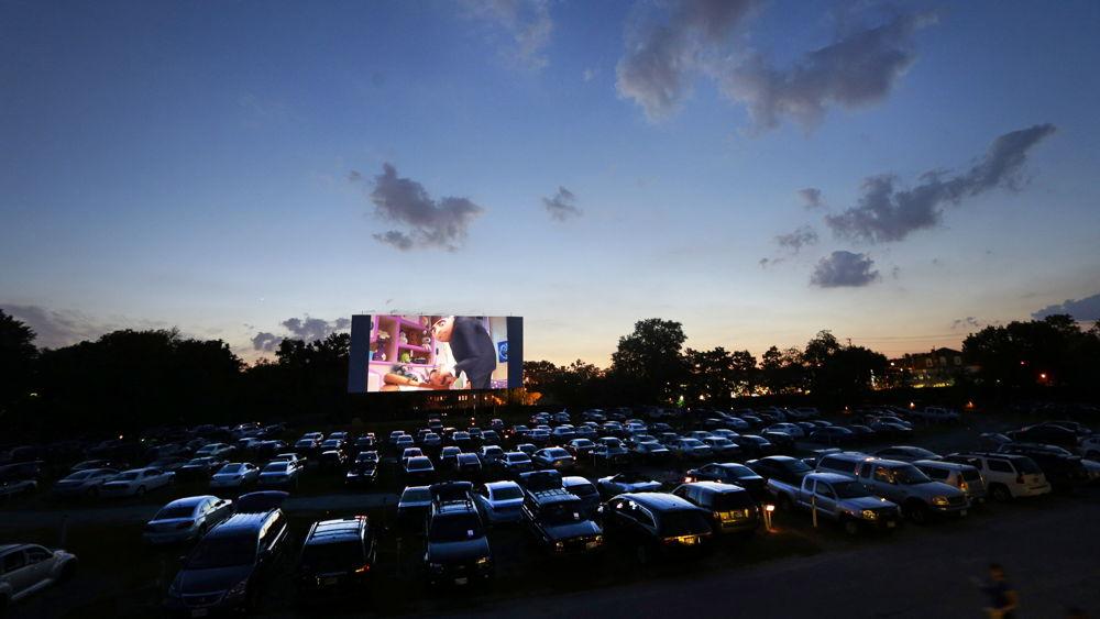 Un cinema drive-in