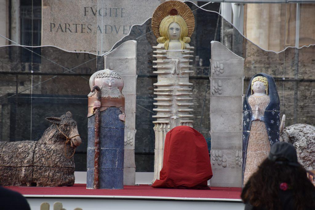 Il presepe di piazza San Pietro