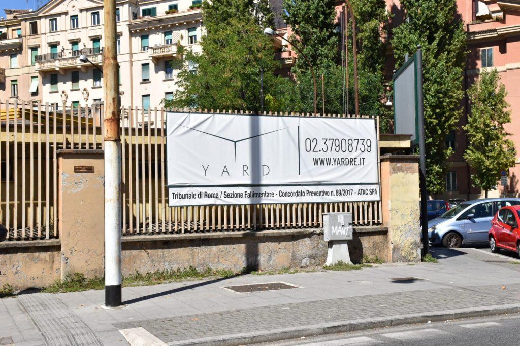 Deposito Atac di piazza Bainsizza
