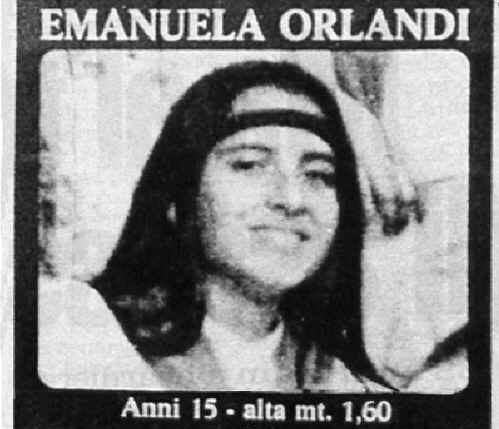 Emanuela Orlandi all'epoca della scomparsa