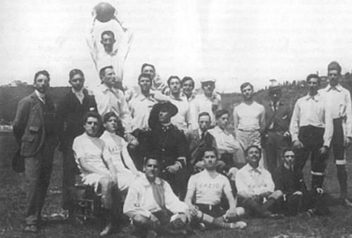 LA FORMAZIONE DELLA LAZIO NEL 1904