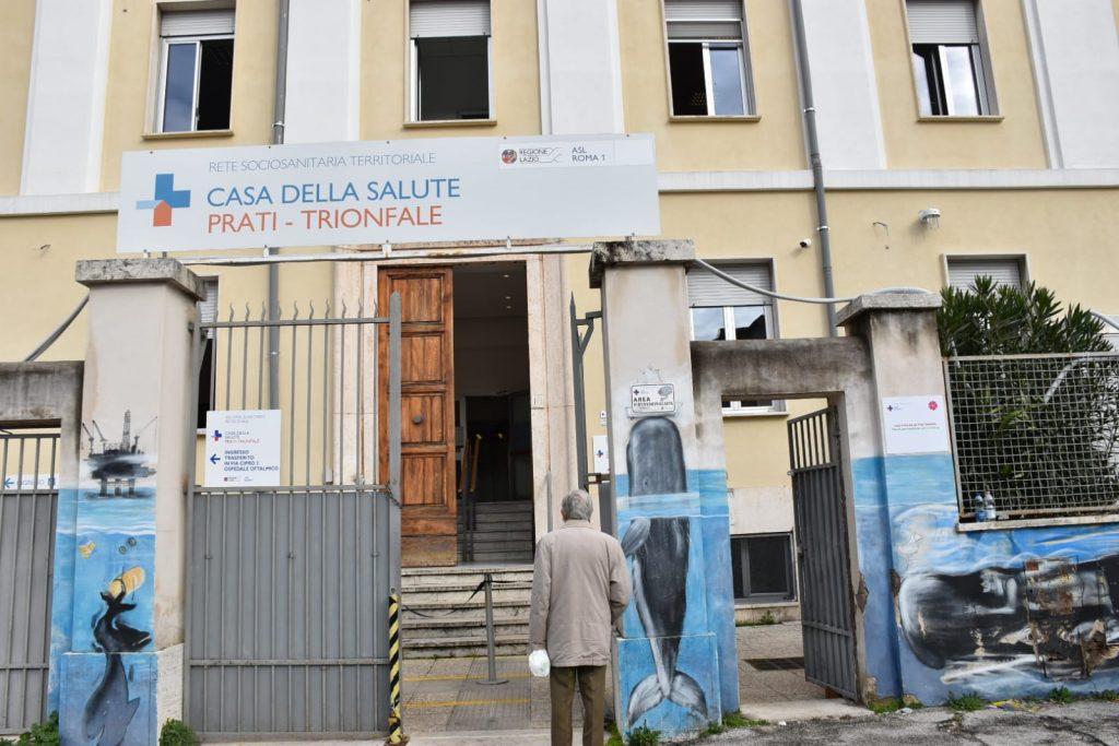 Casa della Salute Prati-Trionfale, postazione per i vaccini anti-Covid