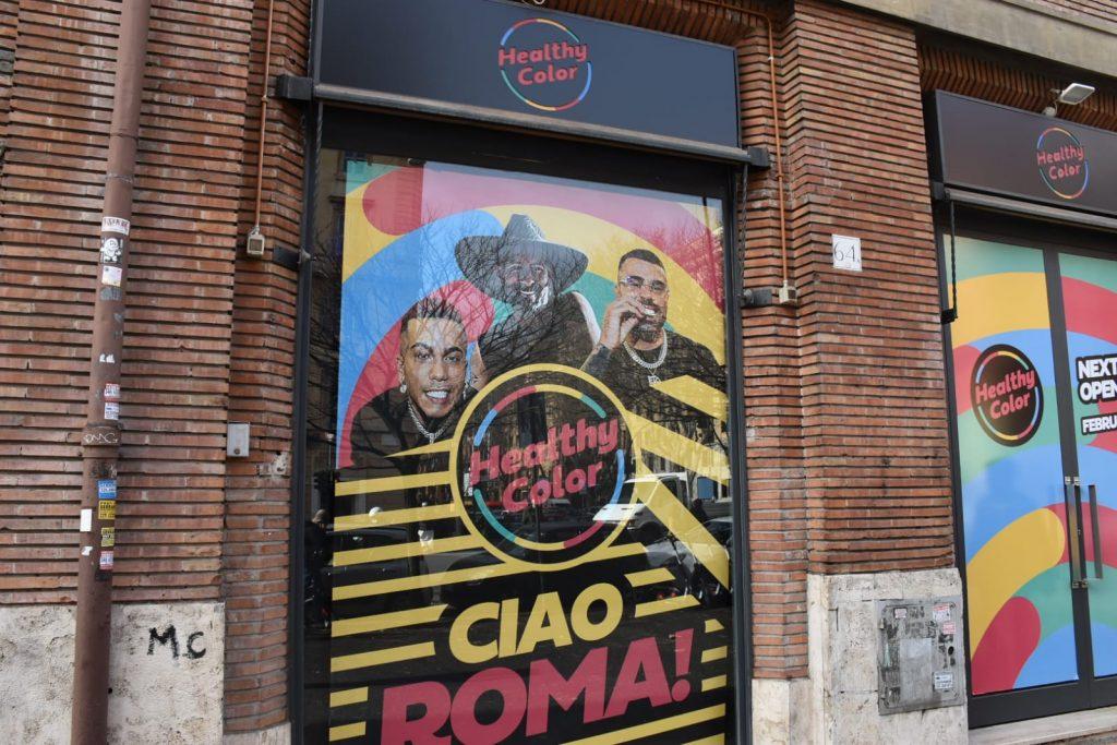 Sfera Ebbasta, Andrea Petagna e Marcelo Burlon aprono in via Leone IV il loro fast food