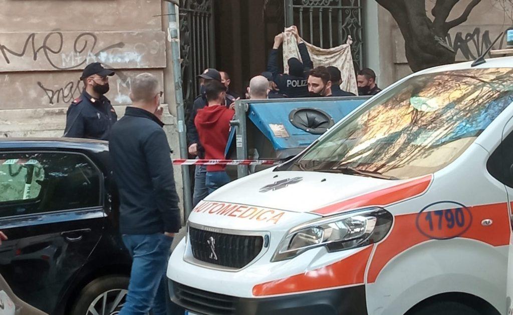 Sparo in via Sabotino. Foto dal gruppo Facebook Osservatorio Della Vittoria