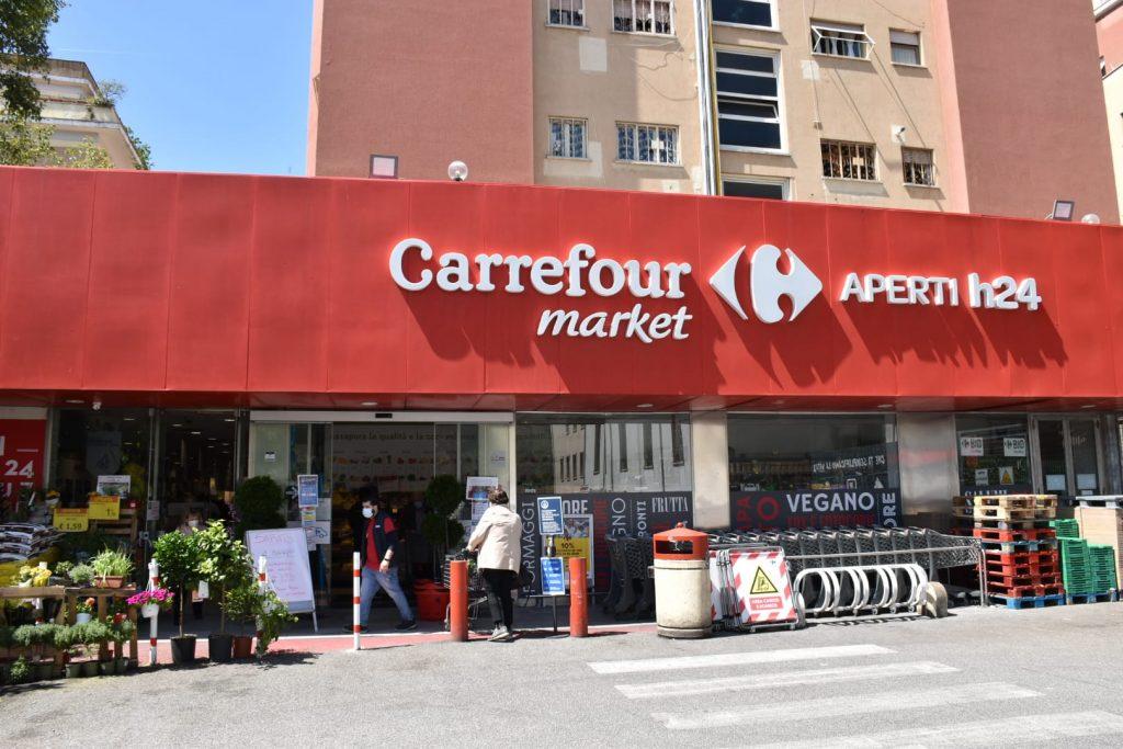 Il Carrefour di piazzale degli Eroi