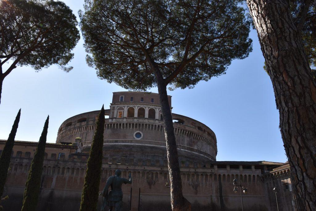 Pini a Castel Sant'Angelo