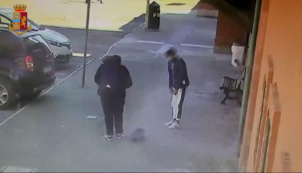 Un fotogramma tratto dal video diffuso dalla polizia