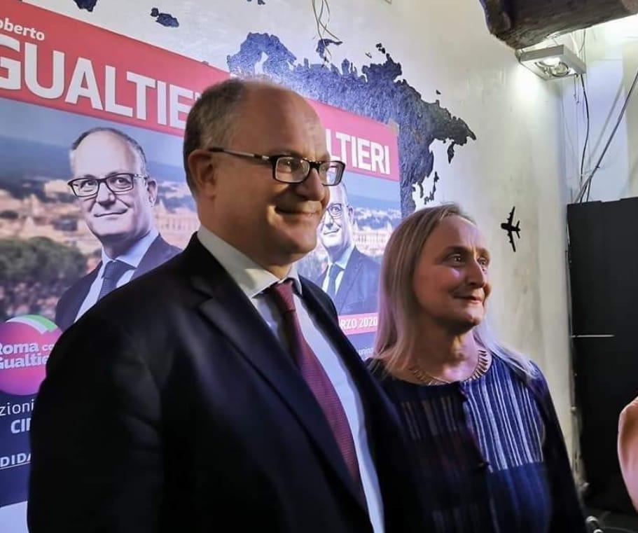 Roberto Gualtieri e Sabrina Alfonsi