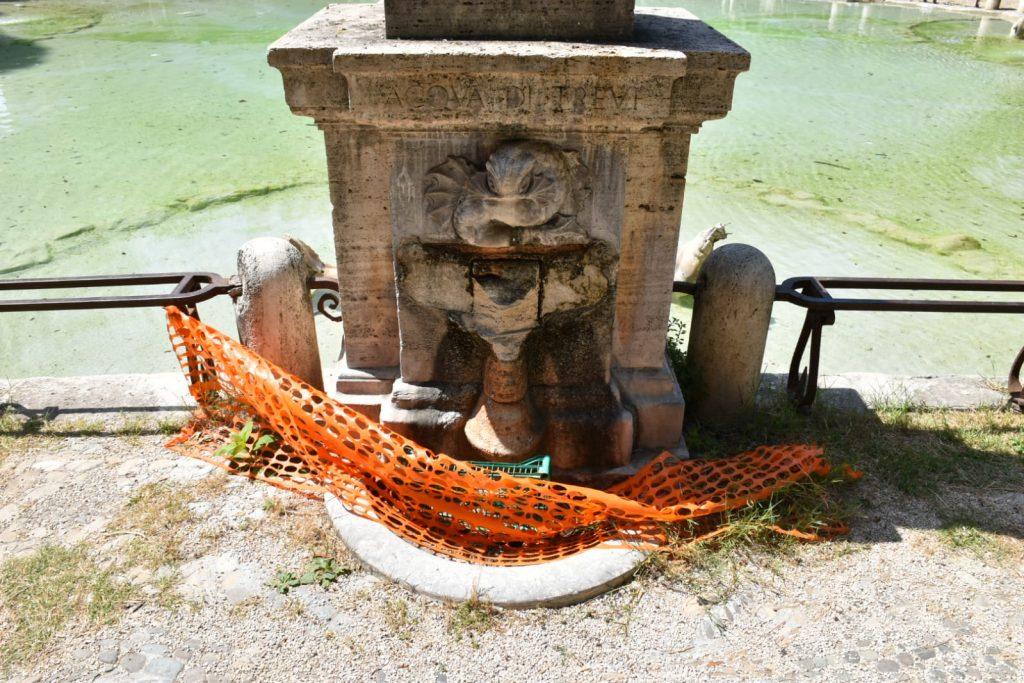 La fontana di piazza Mazzini
