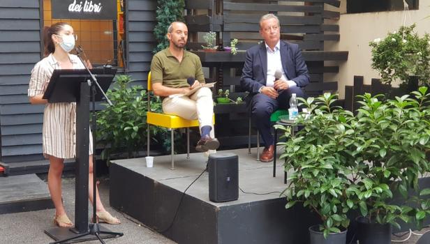 Luigi Carletti con Daniele Autieri e Francesca Gatto