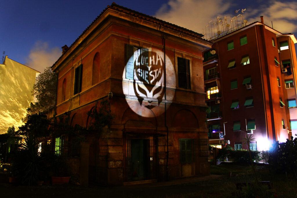 La sede della Casa delle Donne Lucha y Siesta