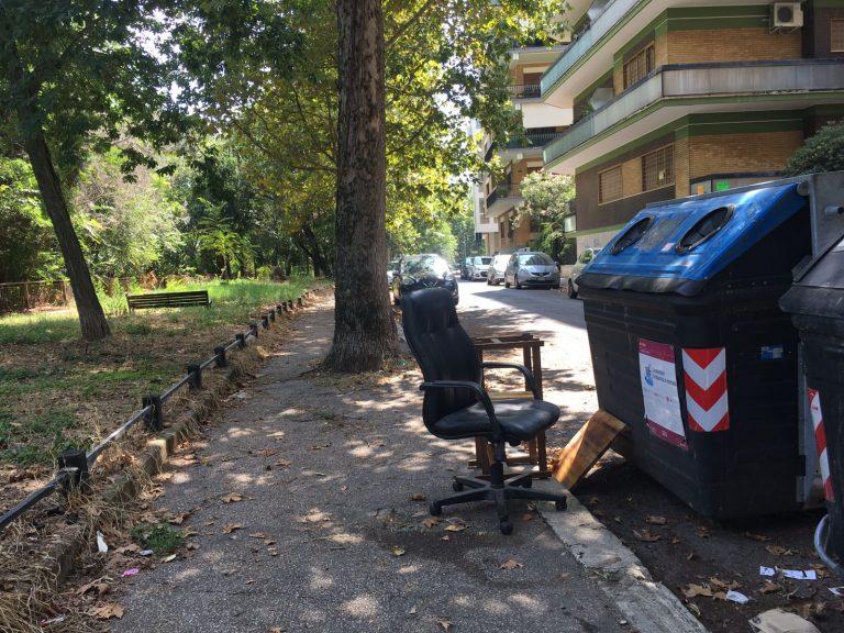 Condizionatori, sedie da ufficio e tricicli: i rifiuti ...