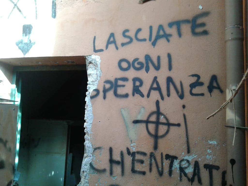 Atti vandalici al Casale della Finanziera nel 2018