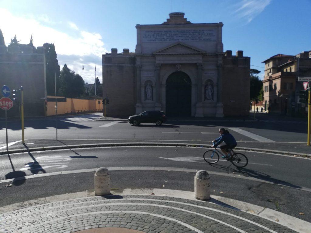 Piazzale di Porta Pia