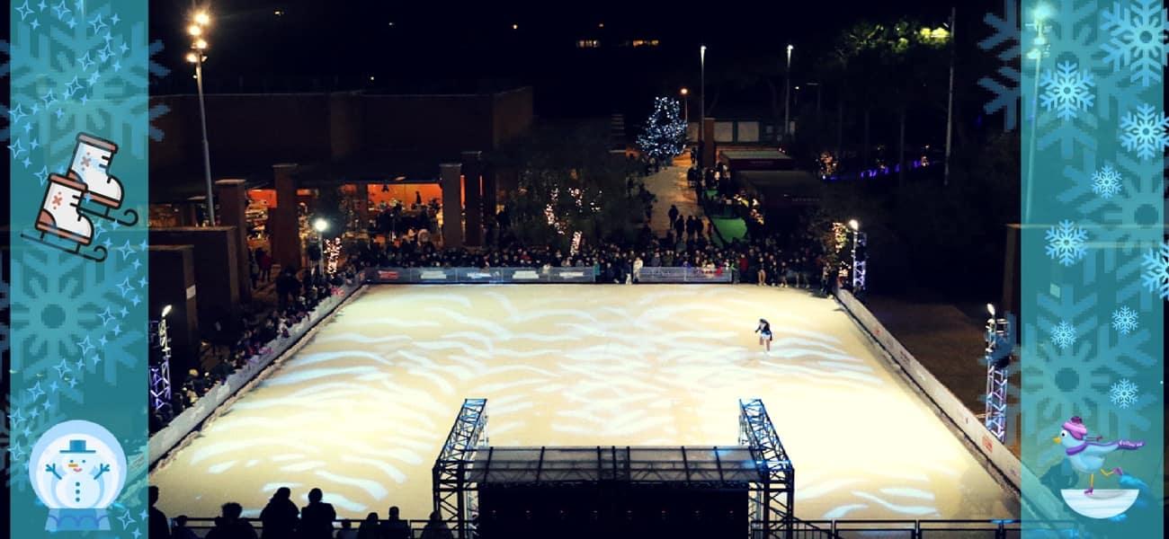 Ice Park, fino al 6 gennaio la pista di pattinaggio sul ghiaccio all'Auditorium - Trieste Salario