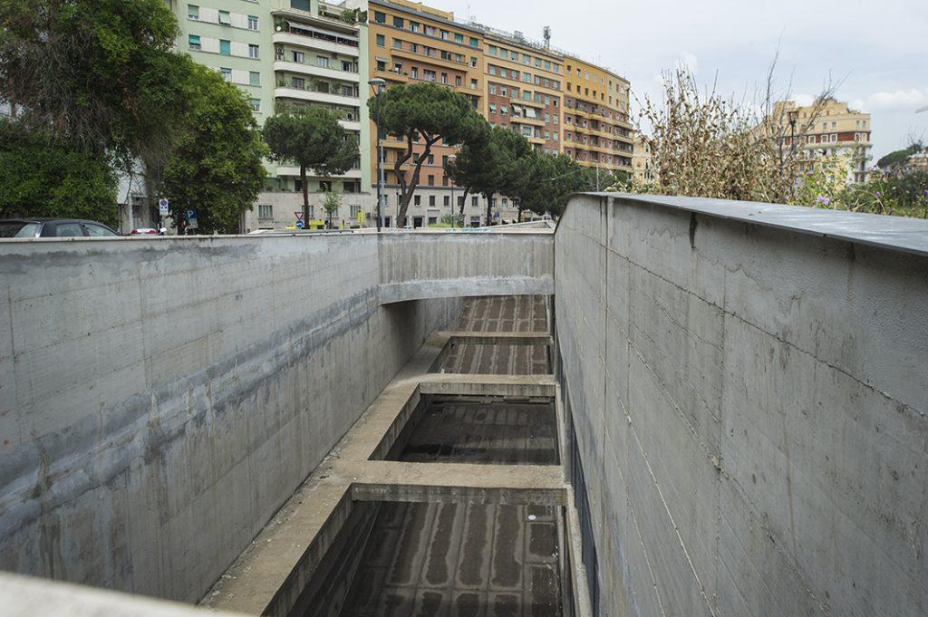 Il parcheggio di piazza Annibaliano