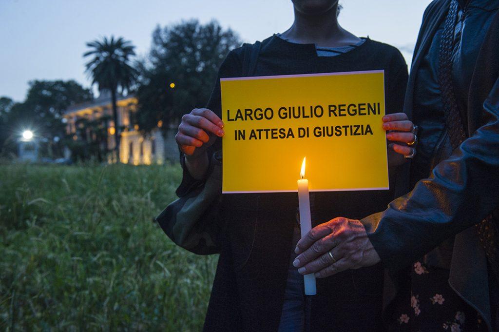 AGOSTO - Manifestazione a Villa Ada per chiedere giustizia per Guido Regeni