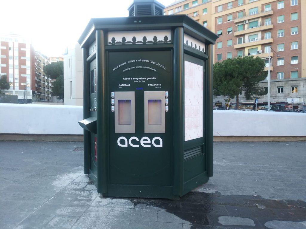 """La """"Casa dell'acqua"""" a piazza Annibaliano"""