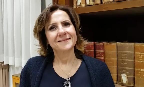 Paola Senesi, dirigente scolastico del liceo Giulio Cesare