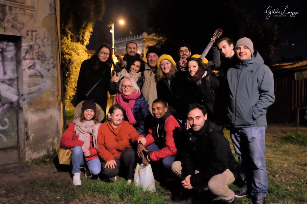 I volontari della comunità di Sant'Egidio
