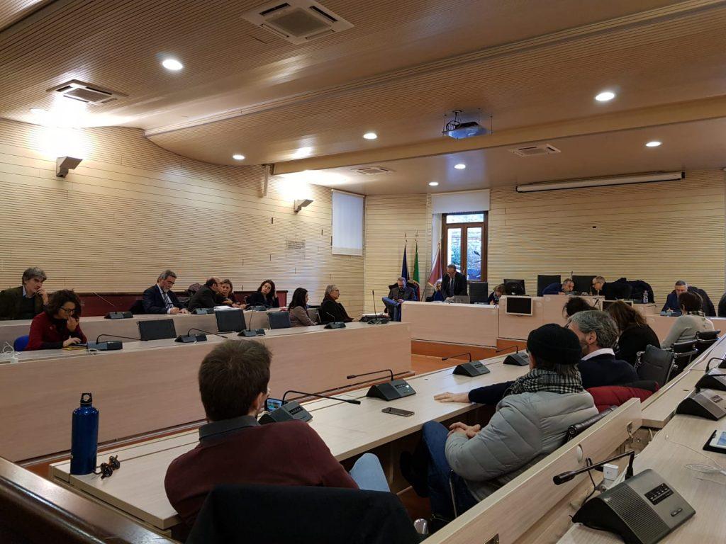 Un momento dell'incontro con la commissione Trasparenza del Campidoglio in III Municipio