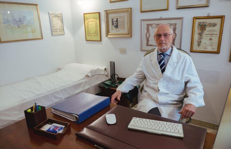 Il professor Fernando Aiuti