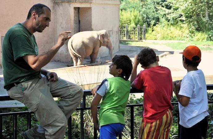 Una visita al Bioparco è l'ideale soprattutto per i più piccoli