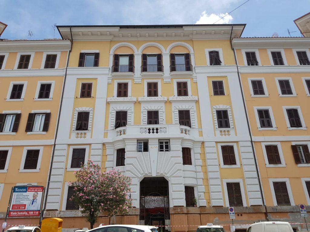 Terminati i lavori al palazzo di piazza Verbano