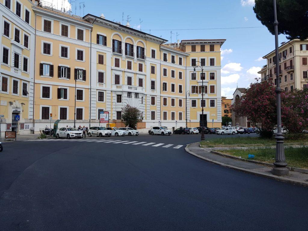 Il manto stradale di piazza Verbano ripristinato dopo i lavori